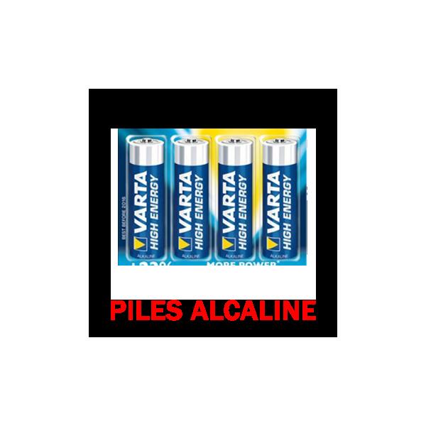 Piles Alcalines