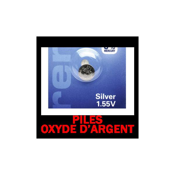Piles Oxyde d'Argent